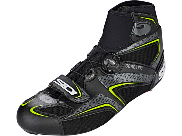 Sidi Frost Gore Schoenen Heren, black/yellow